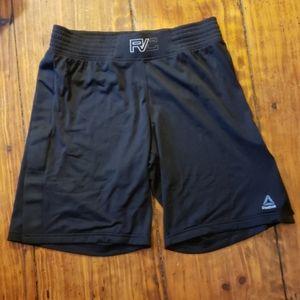 Reebok Combat mesh shorts, black, Women's M